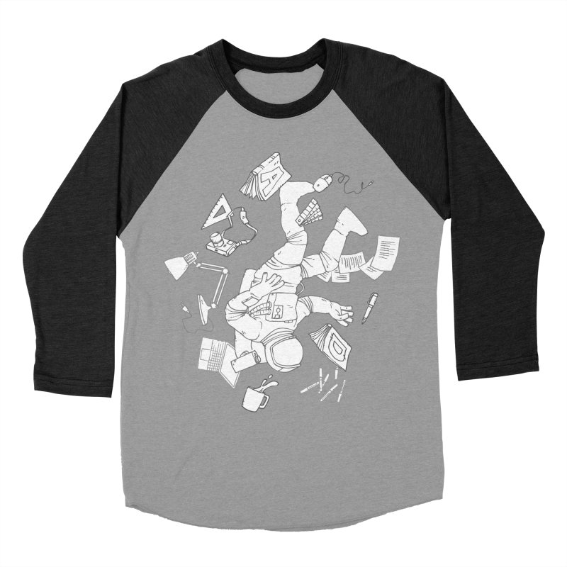 Space Studies Men's Baseball Triblend T-Shirt by Freehand
