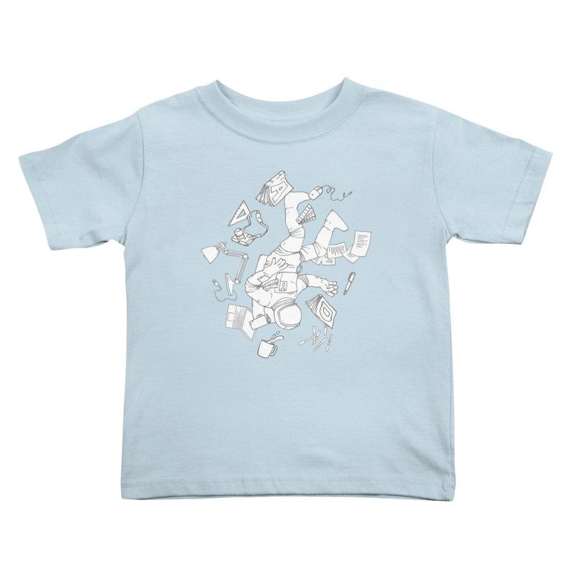 Space Studies Kids Toddler T-Shirt by Freehand