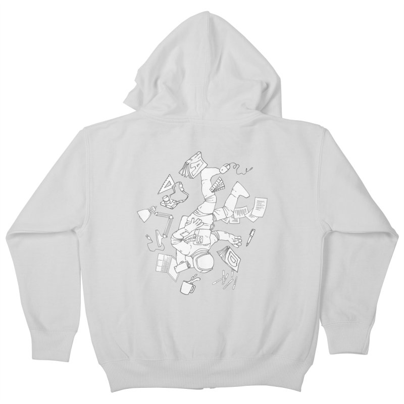 Space Studies Kids Zip-Up Hoody by Freehand