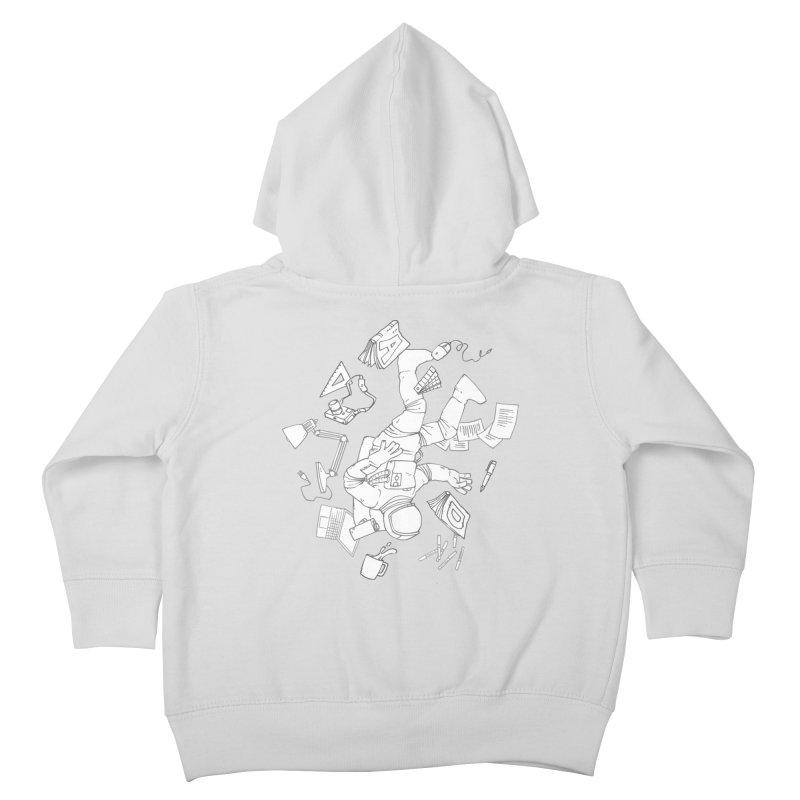 Space Studies Kids Toddler Zip-Up Hoody by Freehand