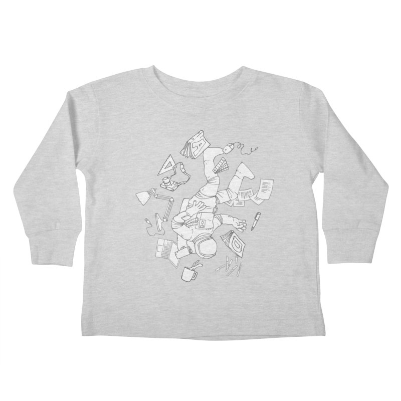 Space Studies Kids Toddler Longsleeve T-Shirt by Freehand