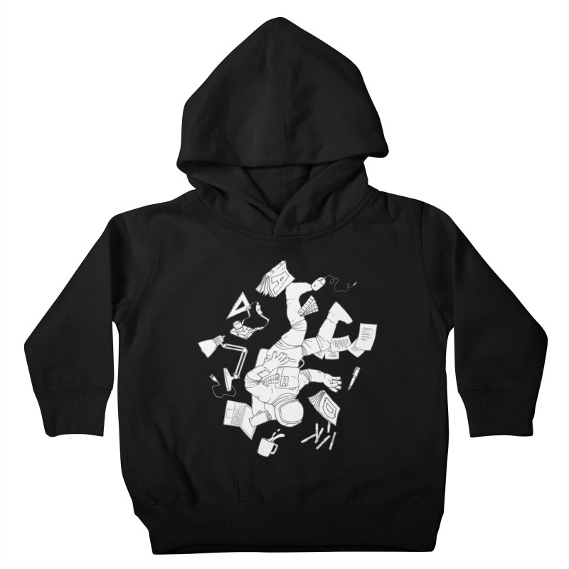 Space Studies Kids Toddler Pullover Hoody by Freehand
