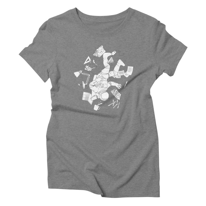Space Studies Women's Triblend T-Shirt by Freehand