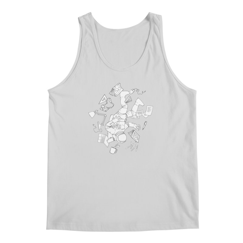 Space Studies Men's Tank by Freehand
