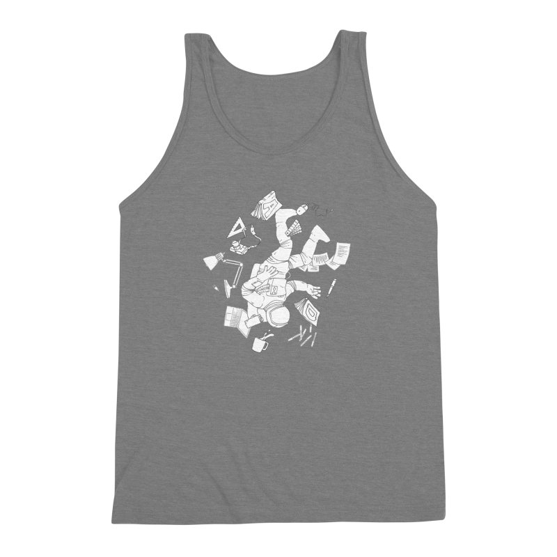 Space Studies Men's Triblend Tank by Freehand