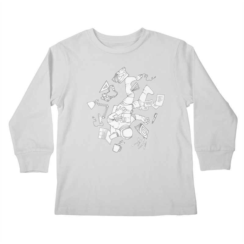 Space Studies Kids Longsleeve T-Shirt by Freehand