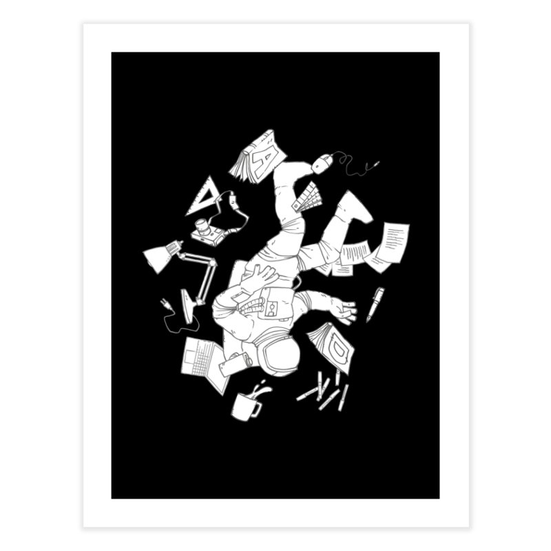 Space Studies Home Fine Art Print by Freehand