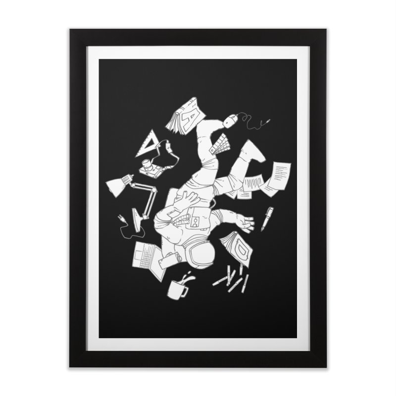 Space Studies Home Framed Fine Art Print by Freehand