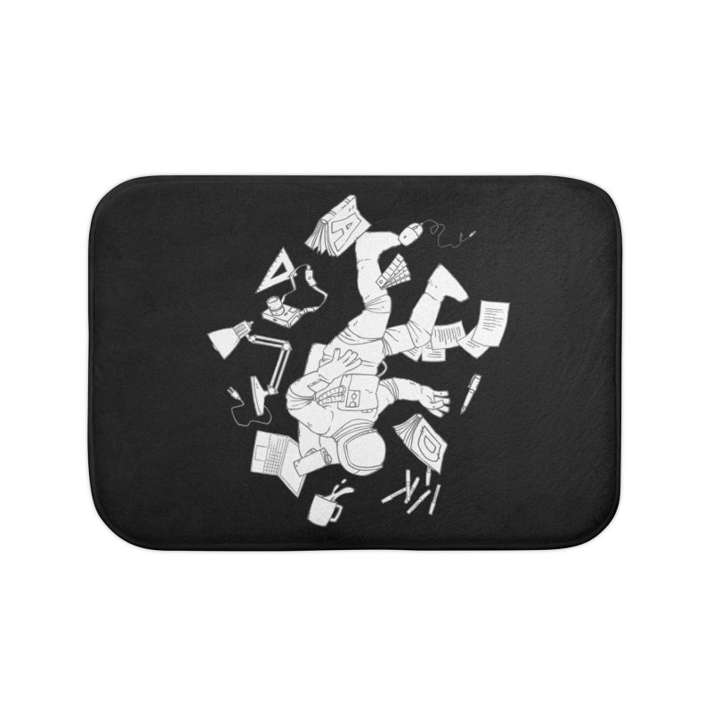 Space Studies Home Bath Mat by Freehand