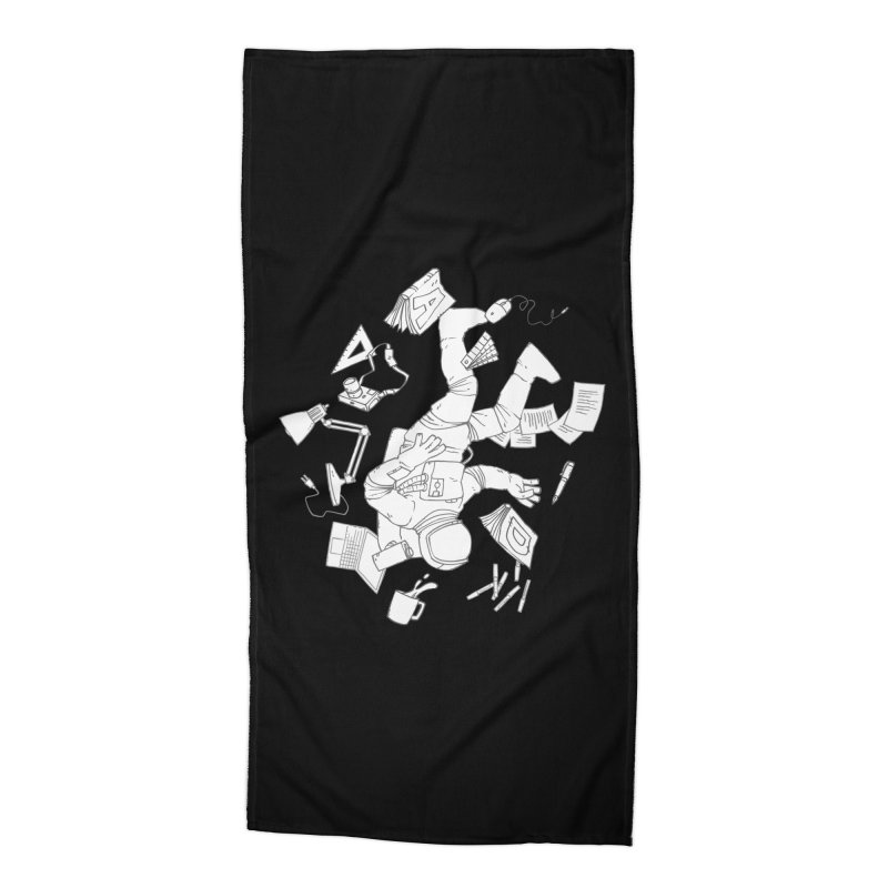 Space Studies Accessories Beach Towel by Freehand