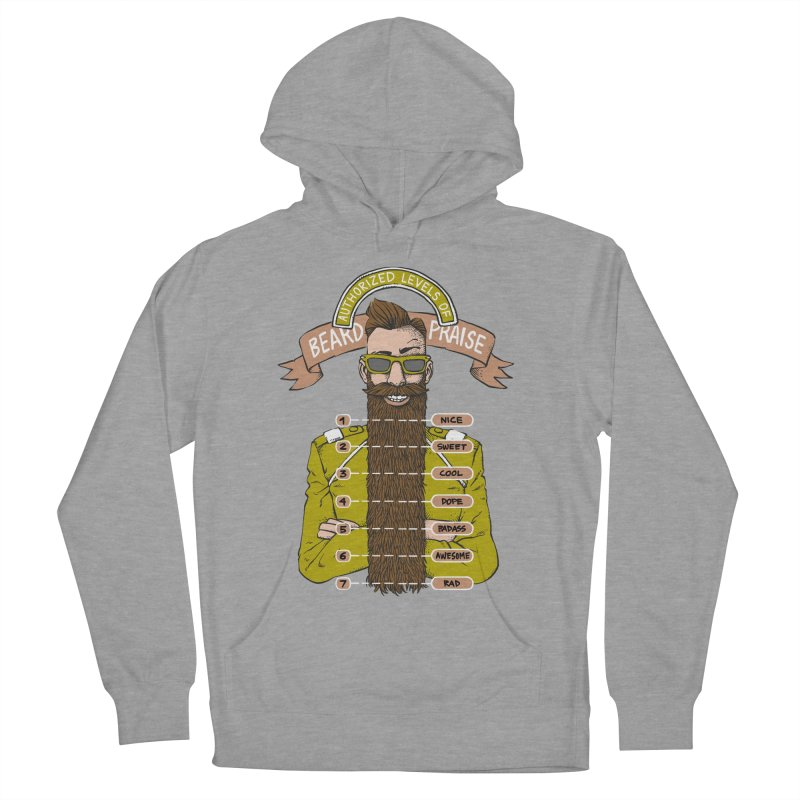Beard Praise Men's Pullover Hoody by Freehand