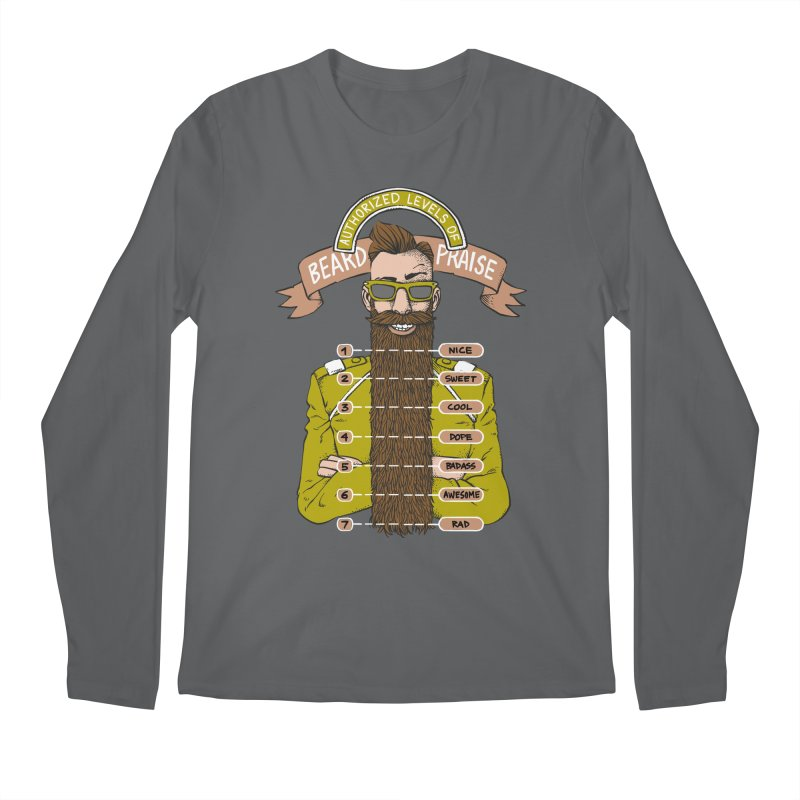 Beard Praise Men's Longsleeve T-Shirt by Freehand
