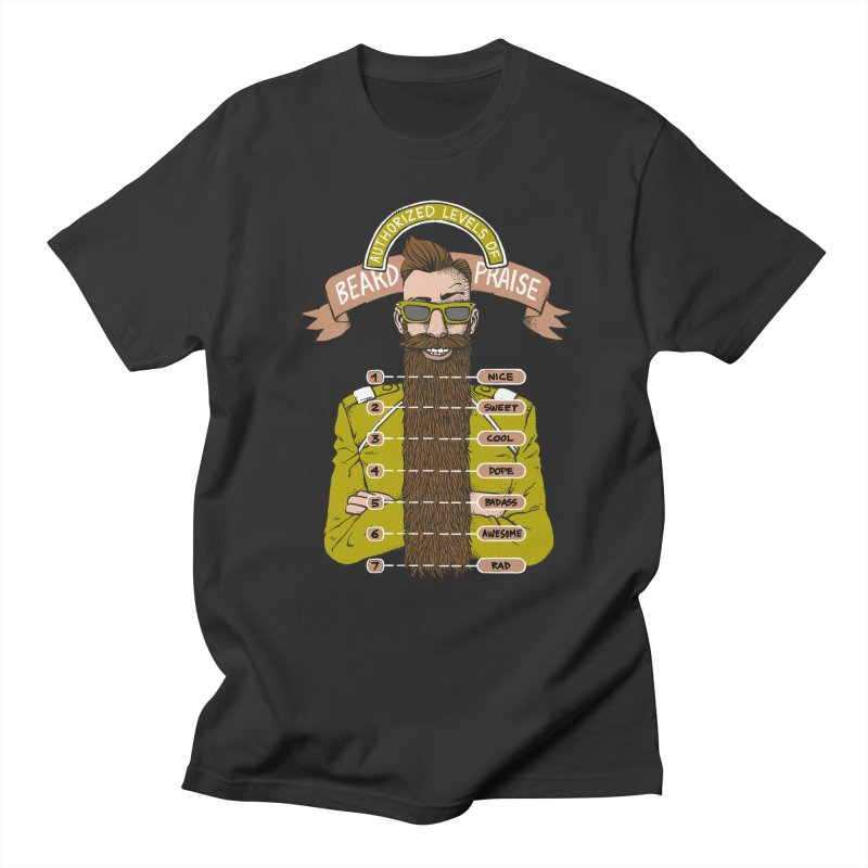 Beard Praise Men's T-shirt by Freehand