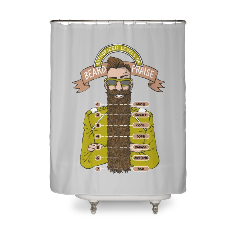 Beard Praise Home Shower Curtain by Freehand