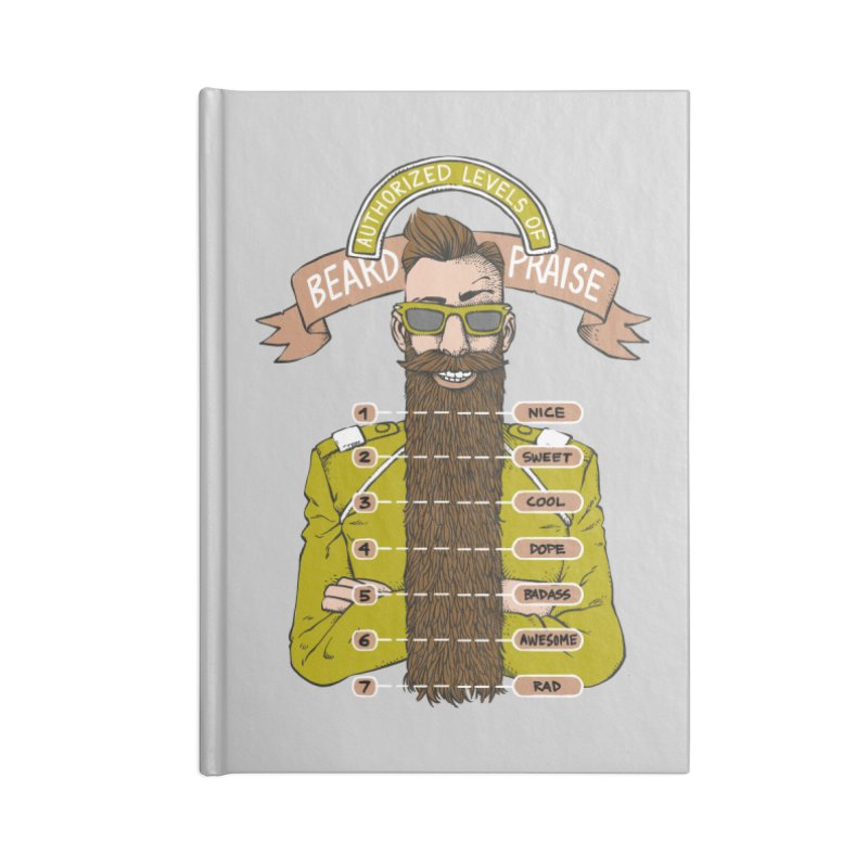 Beard Praise Accessories Notebook by Freehand