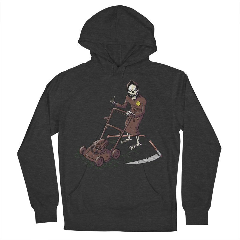 Mow On Men's French Terry Pullover Hoody by Freehand