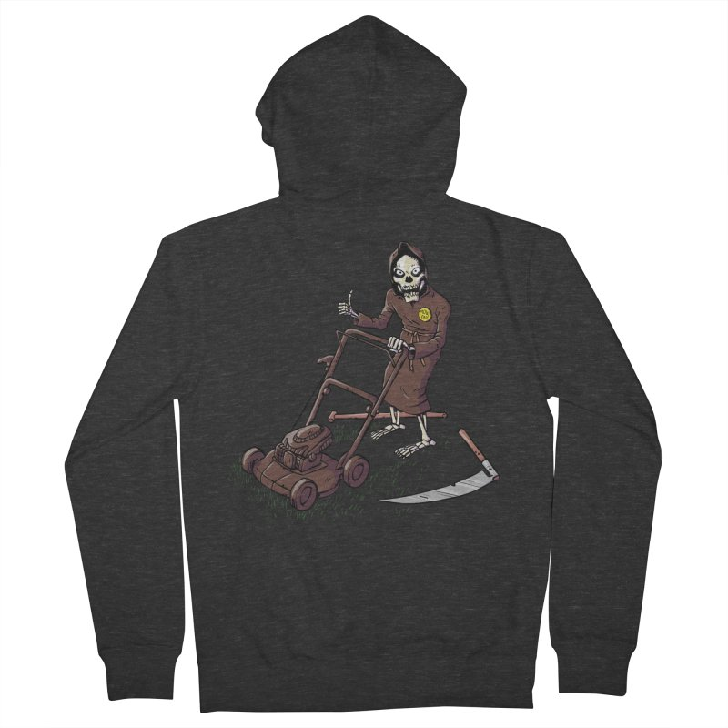 Mow On Men's French Terry Zip-Up Hoody by Freehand