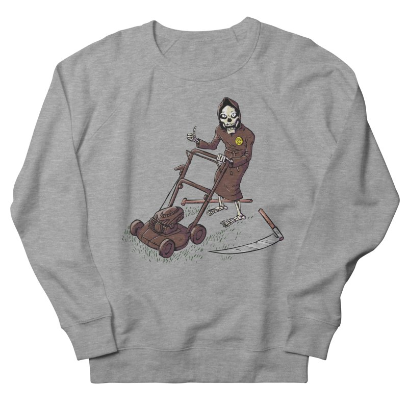 Mow On Women's Sweatshirt by Freehand