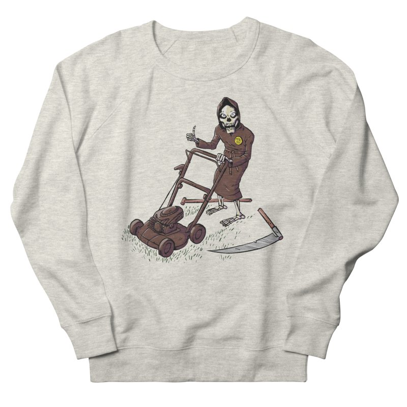 Mow On Women's French Terry Sweatshirt by Freehand