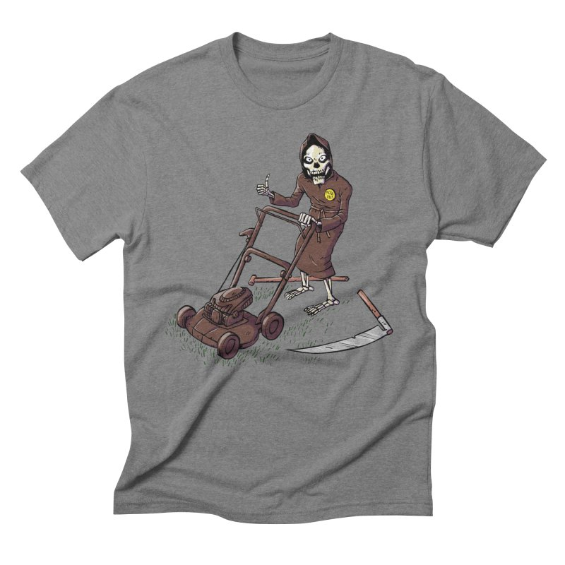 Mow On Men's Triblend T-Shirt by Freehand
