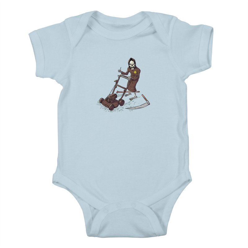 Mow On Kids Baby Bodysuit by Freehand