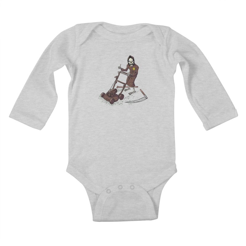 Mow On Kids Baby Longsleeve Bodysuit by Freehand
