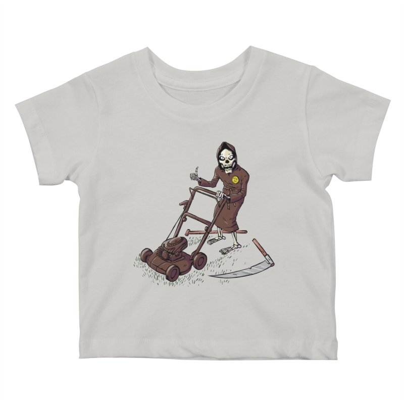 Mow On Kids Baby T-Shirt by Freehand