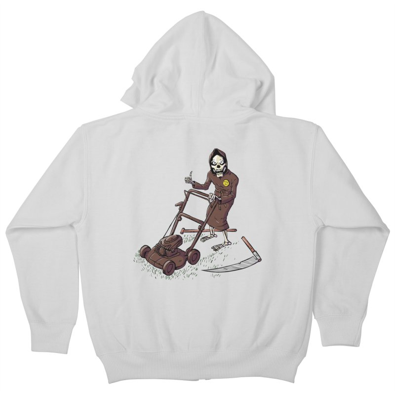 Mow On Kids Zip-Up Hoody by Freehand