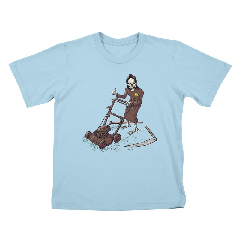 Mow On Kids T-Shirt by Freehand