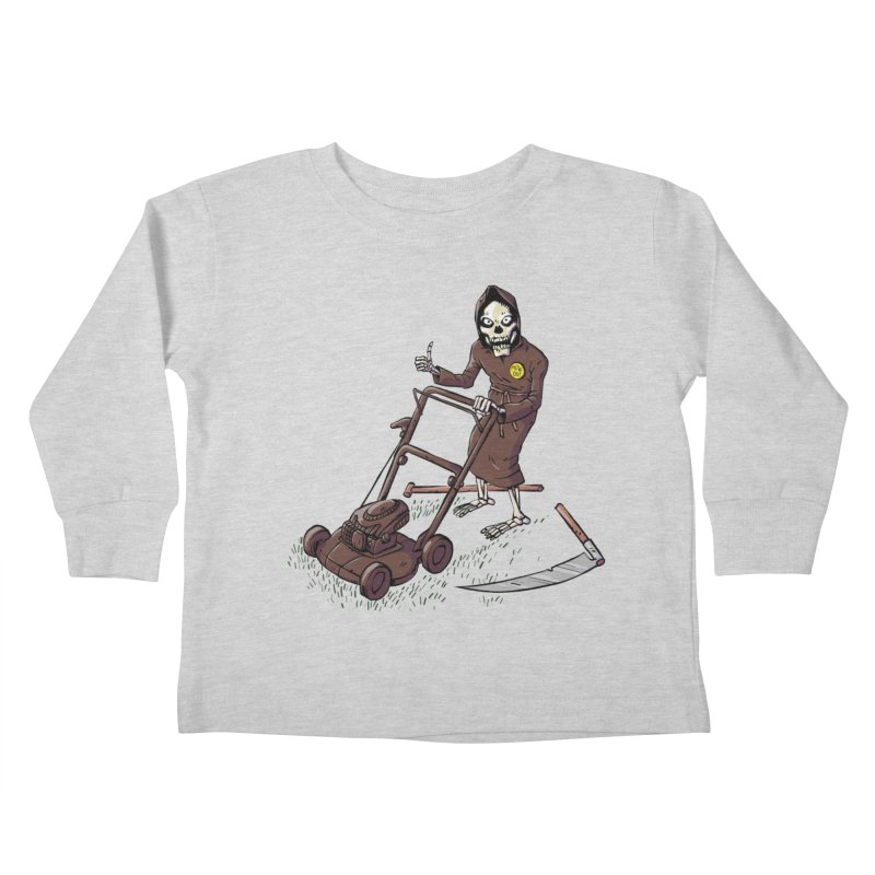 Mow On Kids Toddler Longsleeve T-Shirt by Freehand