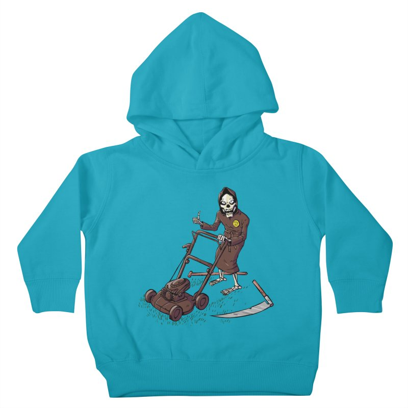 Mow On Kids Toddler Pullover Hoody by Freehand