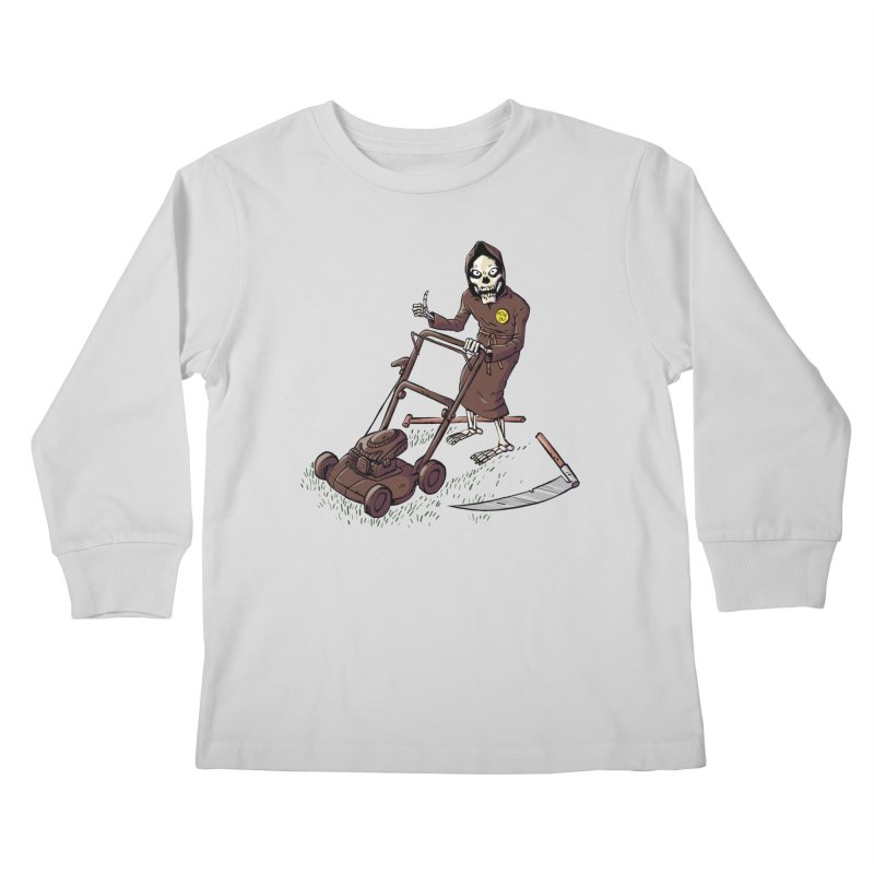 Mow On Kids Longsleeve T-Shirt by Freehand