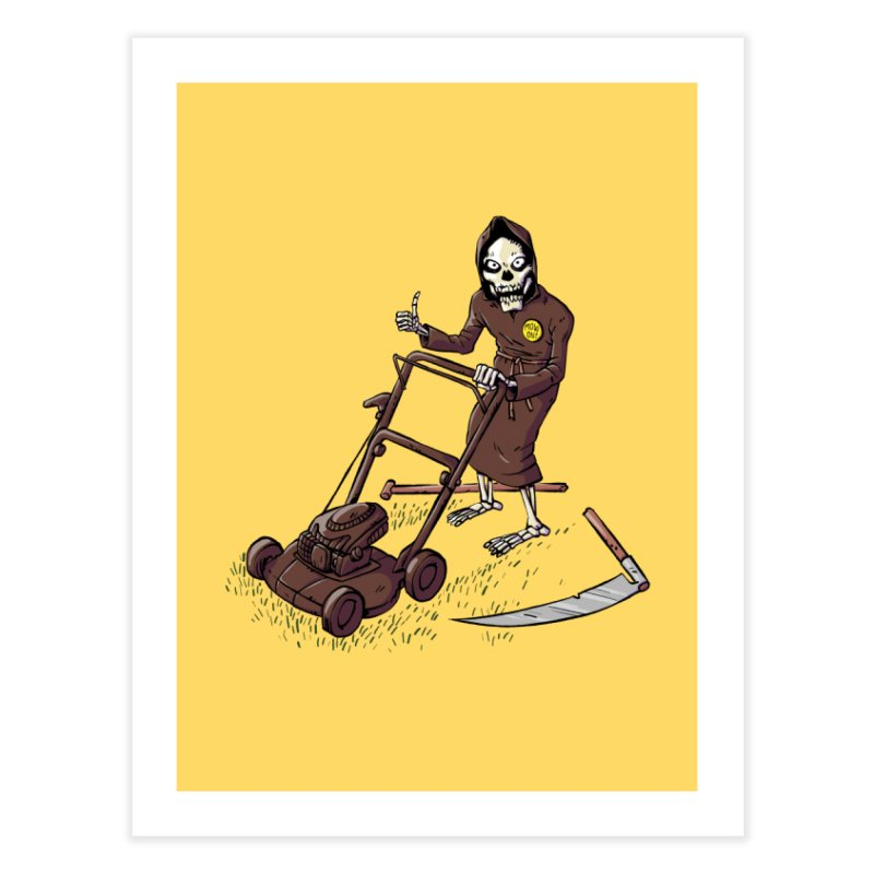 Mow On Home Fine Art Print by Freehand