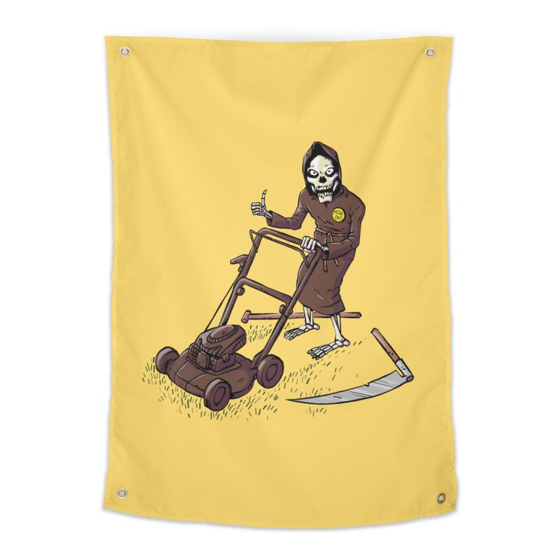 Mow On Home Tapestry by Freehand