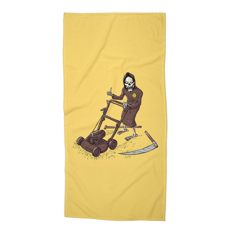Mow On Accessories Beach Towel by Freehand
