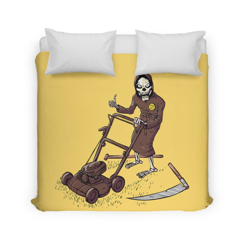 Mow On Home Duvet by Freehand