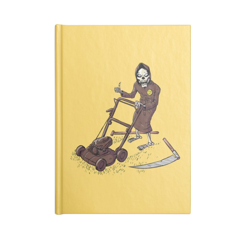 Mow On in Blank Journal Notebook by Freehand
