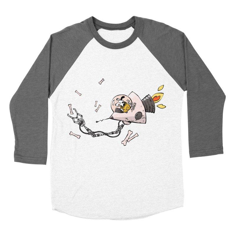 Bone Collector Men's Baseball Triblend Longsleeve T-Shirt by Freehand