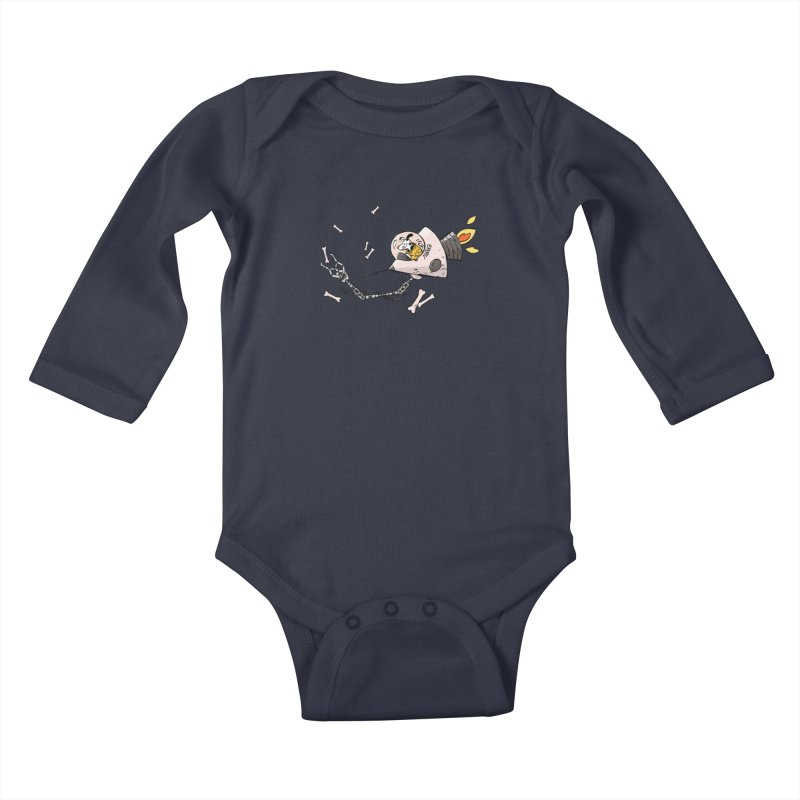 Bone Collector Kids Baby Longsleeve Bodysuit by Freehand
