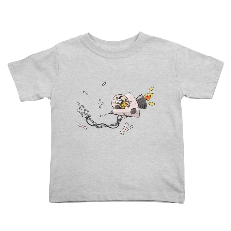 Bone Collector Kids Toddler T-Shirt by Freehand