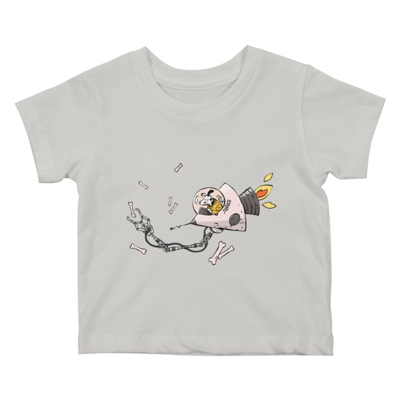 Bone Collector Kids Baby T-Shirt by Freehand