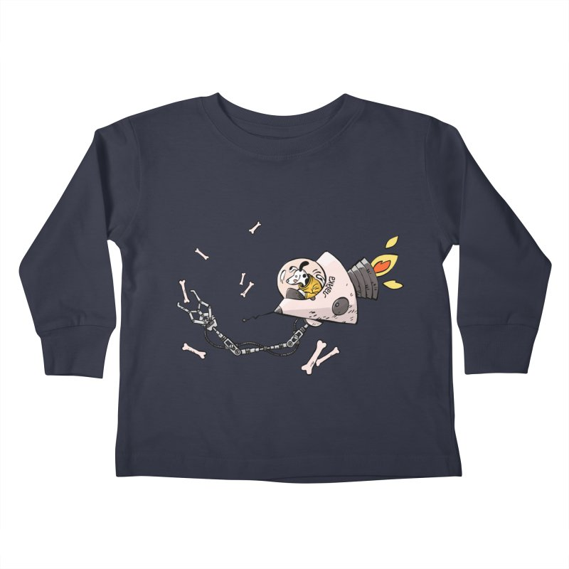 Bone Collector Kids Toddler Longsleeve T-Shirt by Freehand