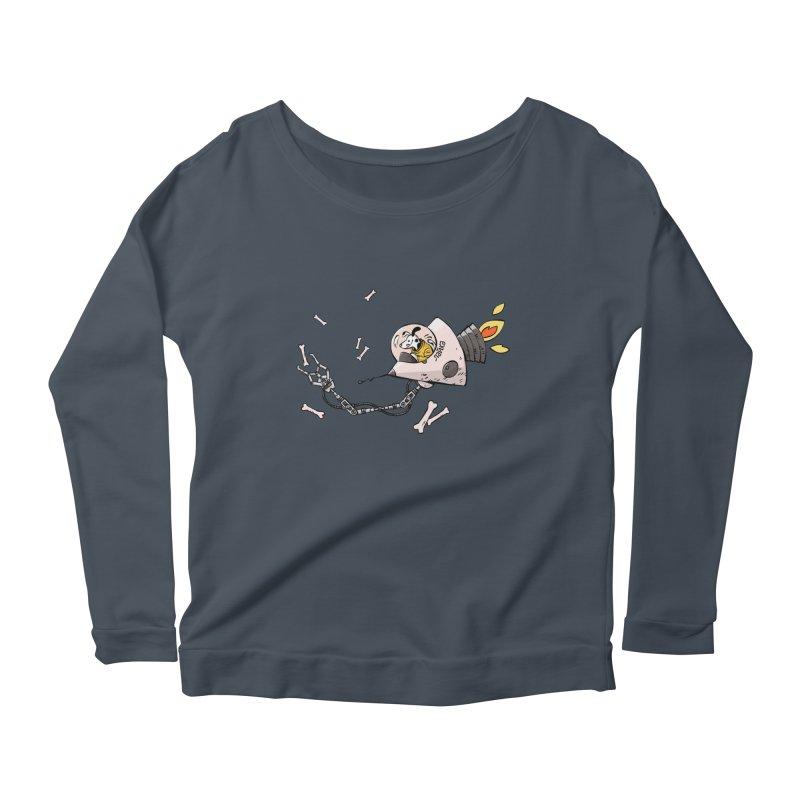 Bone Collector Women's Scoop Neck Longsleeve T-Shirt by Freehand
