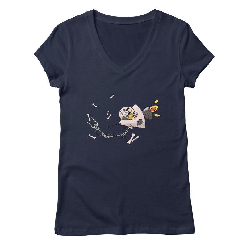 Bone Collector Women's V-Neck by Freehand