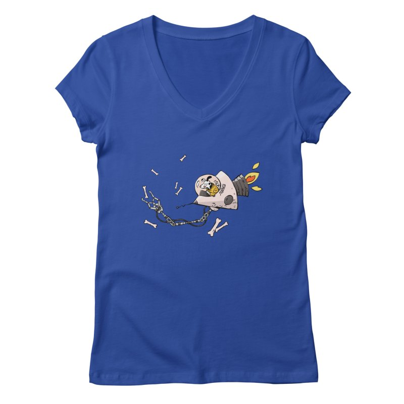 Bone Collector Women's Regular V-Neck by Freehand
