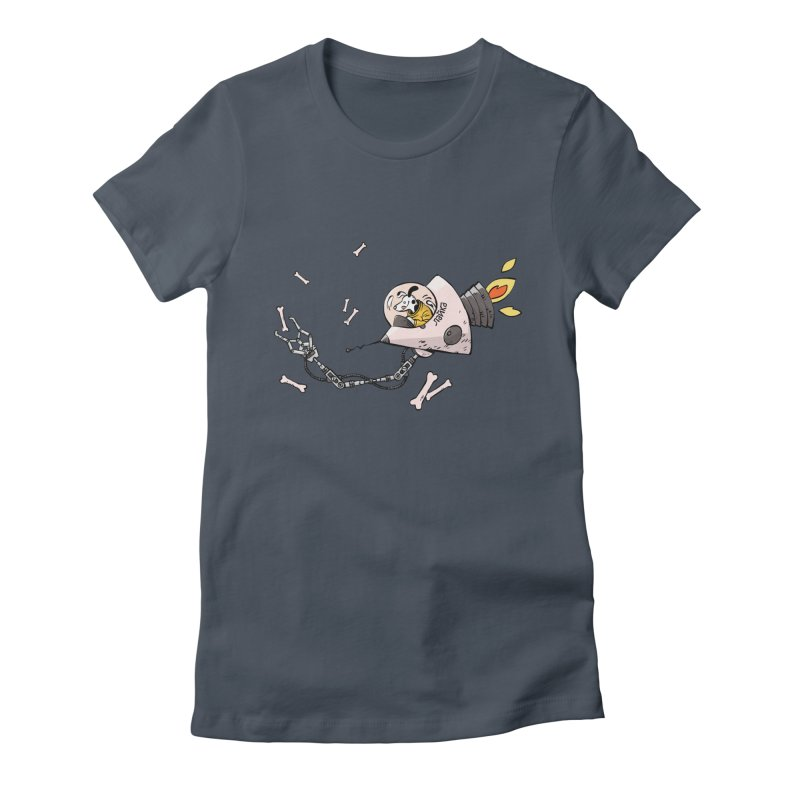 Bone Collector Women's Fitted T-Shirt by Freehand