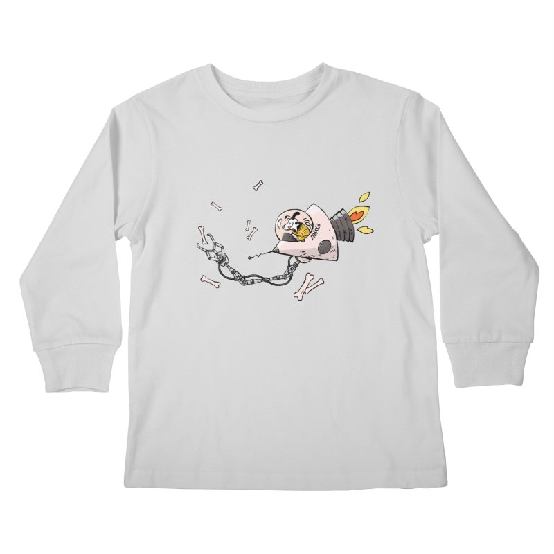 Bone Collector Kids Longsleeve T-Shirt by Freehand