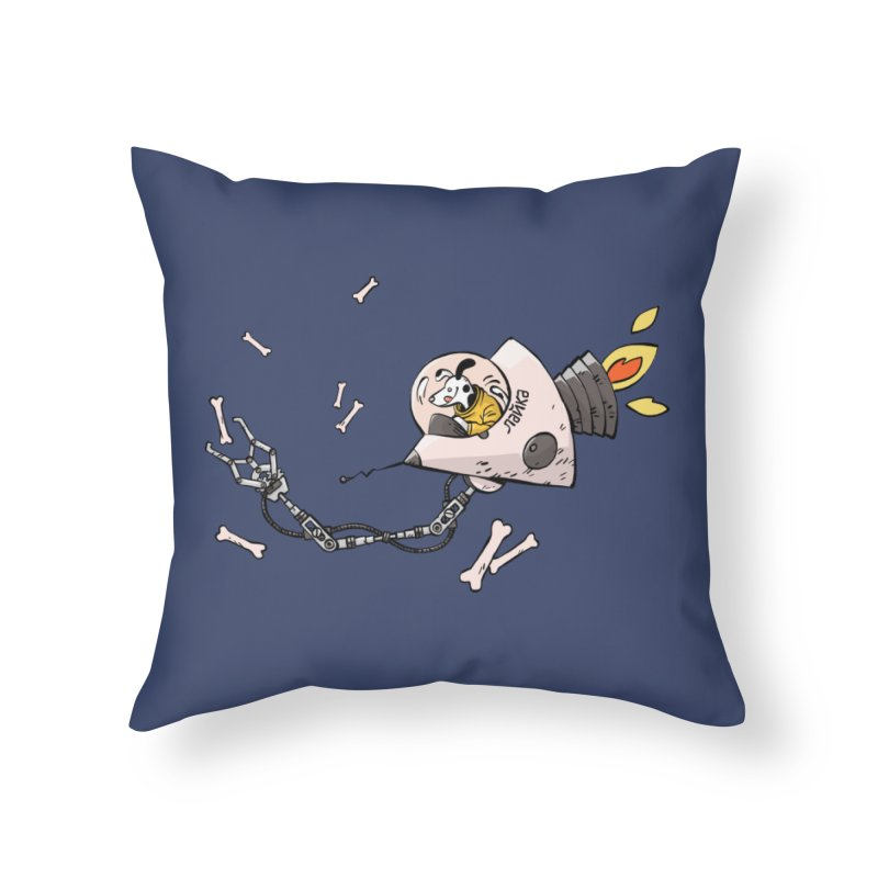 Bone Collector Home Throw Pillow by Freehand