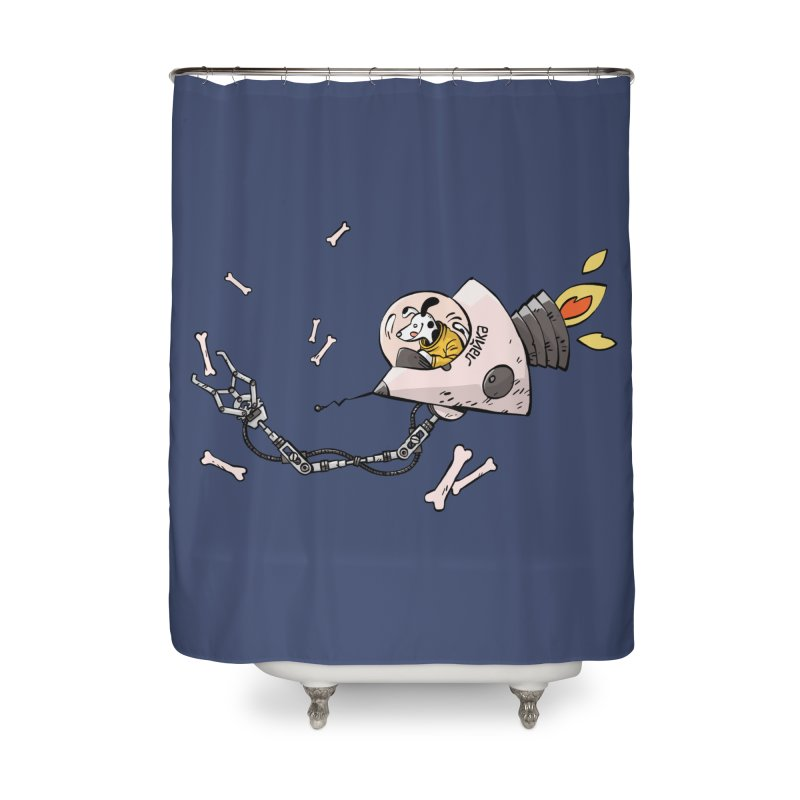 Bone Collector Home Shower Curtain by Freehand