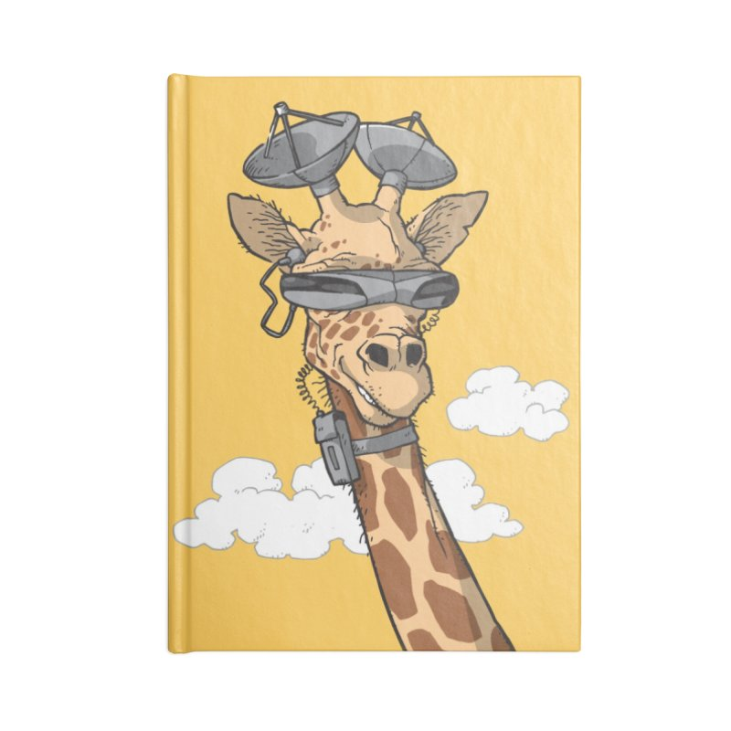 High Tech Animal Accessories Lined Journal Notebook by Freehand